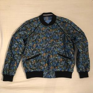 Coach Floral Printed Reversible Bomber Jacket